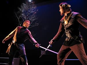 Macbeth-sword fight with Matt Newnham
